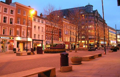 mánchester centro de la ciudad