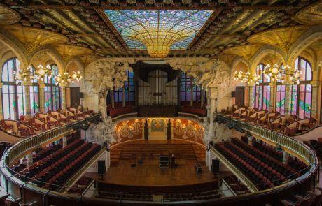 Barcelona Domènech i Montaner Modernismo