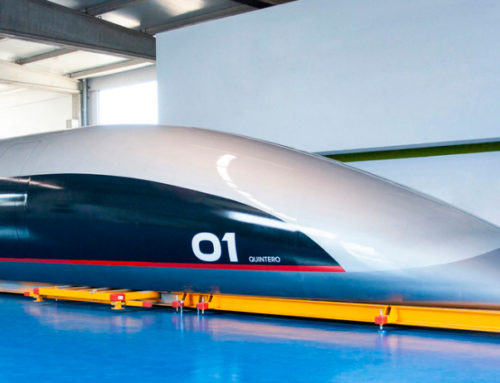 CRUZ Y ORTIZ VUELA CON EL HYPERLOOP