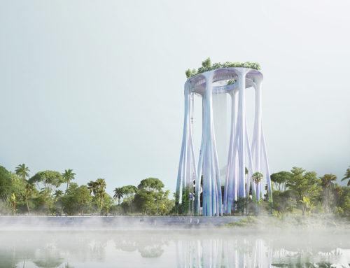 XTU ARCHITECTS DESVELAN MONUMENTO EN SINGAPUR INSPIRADO POR LOS BOSQUES TROPICALES