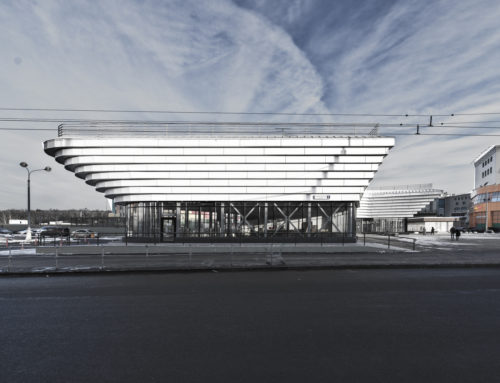 EDIFICIO MULTI-USOS EN MOSCÚ POR KPLN ARCHITECTURAL BUREAU
