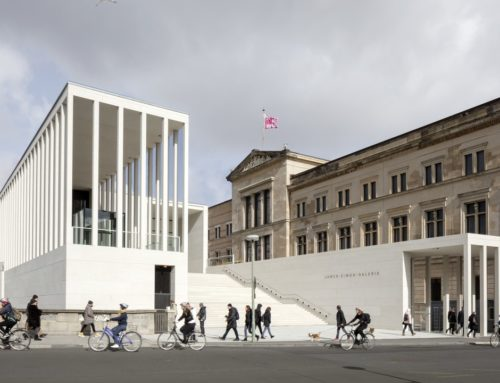 JAMES-SIMON GALLERY EN BERLÍN POR DAVID CHIPPERFIELD ARCHITECTS