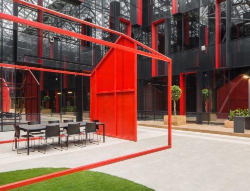 INTERIORES DEL CENTRO DE NEGOCIOS NEO GEO POR T+T Architects