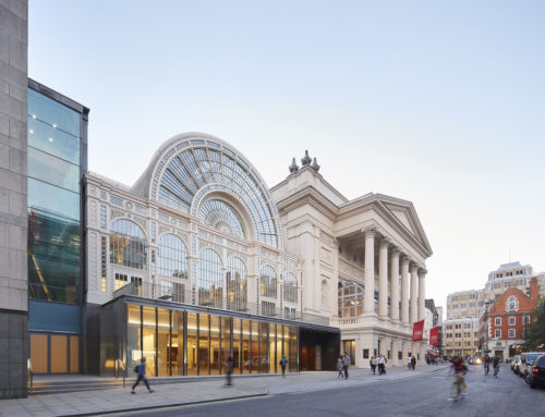 RENOVACIÓN ROYAL OPERA HOUSE POR STANTON WILLIAMS