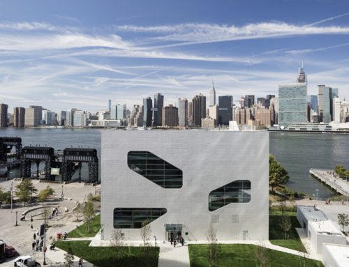 BIBLIOTECA HUNTERS POINT DE STEVEN HOLL ARCHITECTS