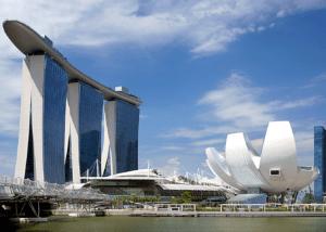 Singapur Arquitectura Paisaje