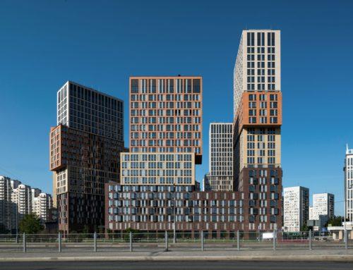 EDIFICIOS RESIDENCIALES EN VANDER PARK (MOSCÚ) POR DE ARCHITEKTEN CIE